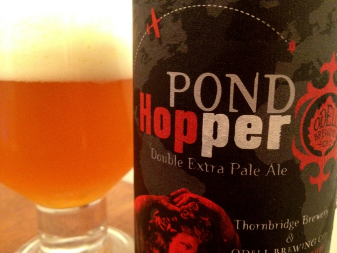 Pond Hopper Double Extra Pale Ale