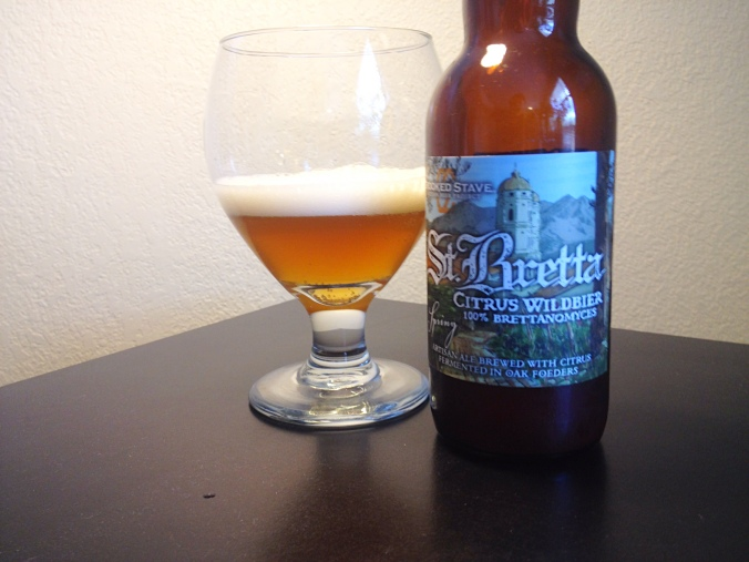 Crooked Stave's St. Bretta Citrus Wildbier